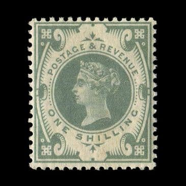 TUT2601 - GB QV - Jubilee issue 1s. Dull green superb UM NH. CLICK FOR FULL DESCRIPTION