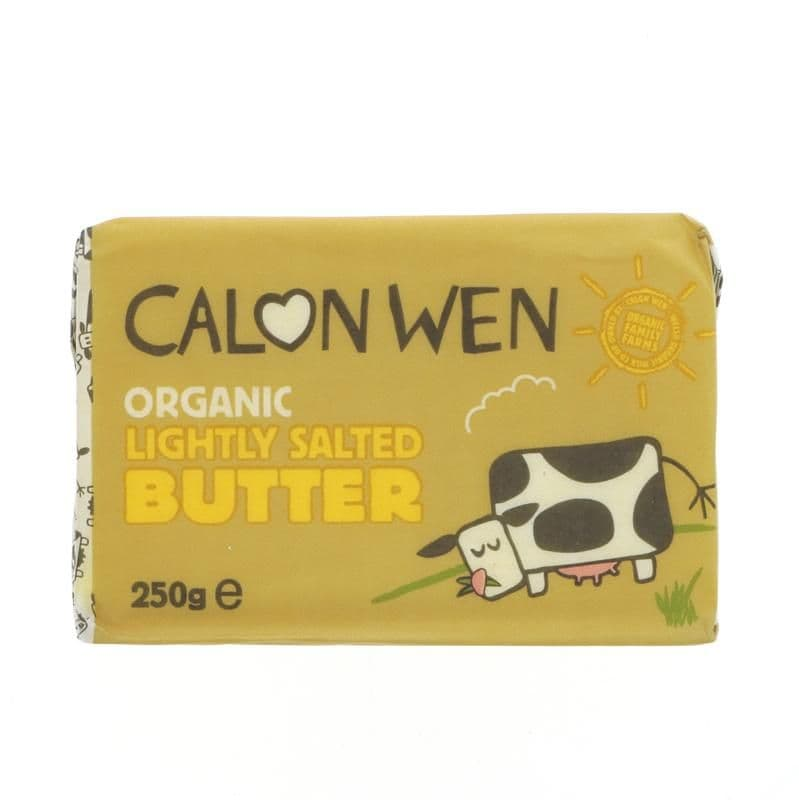 Calon Wen Lightly Salted Welsh Butter