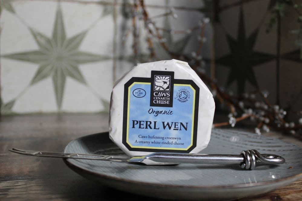 Caws Cenarth Cheese - Artisan Perl Wen
