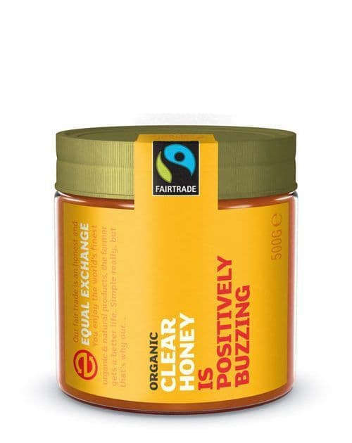 Equal Exchange Organic Fairtrade Clear Honey
