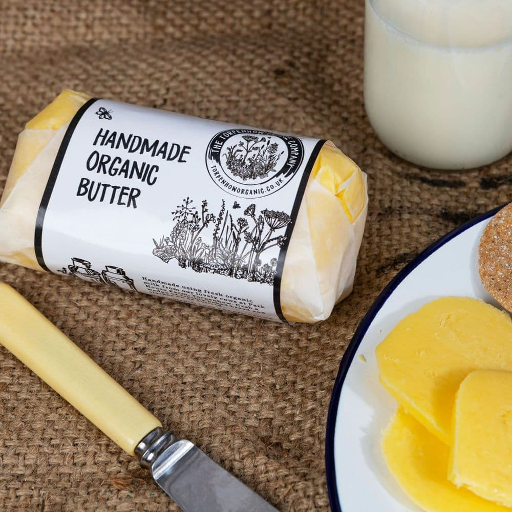 Organic Salted Pasteurised Butter