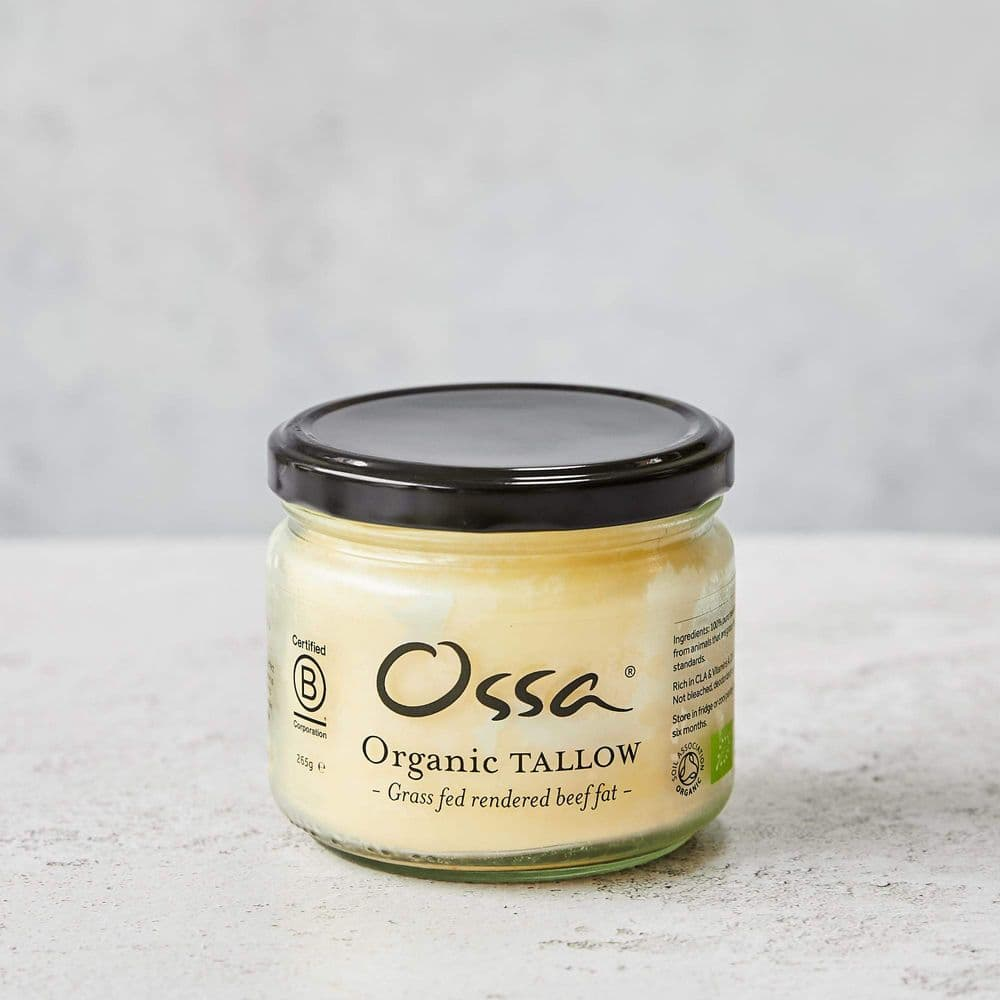 OSSA Organic Beef Tallow Jar (Ready to use)