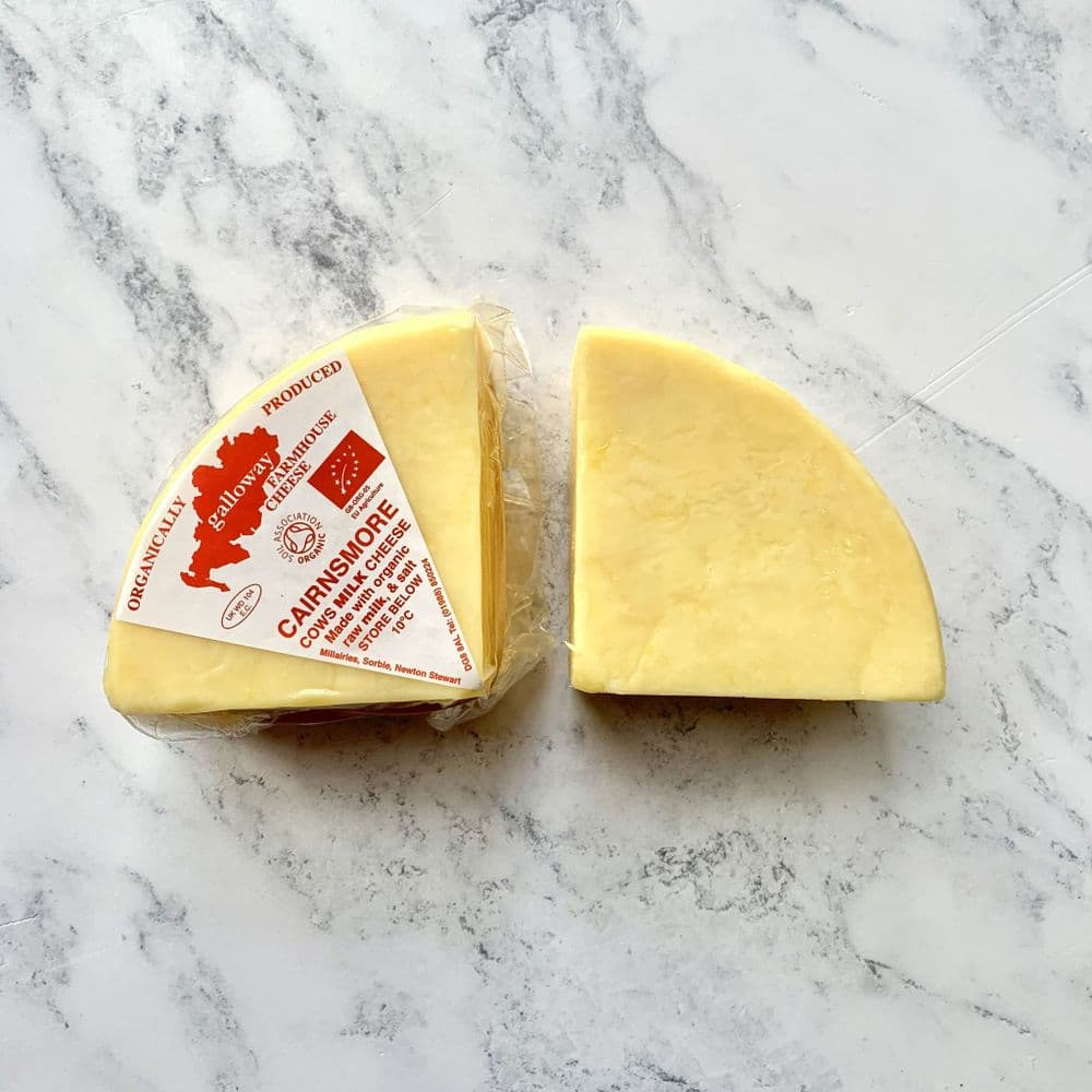 Raw Organic Galloway Farmshouse Cheddar