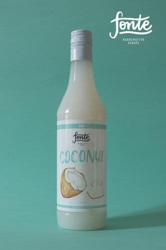 FONTE COCONUT SYRUP, 750 ml
