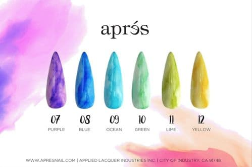 Aprés Artisté ArtInk (Set 2) with Blending Fluid 120ml