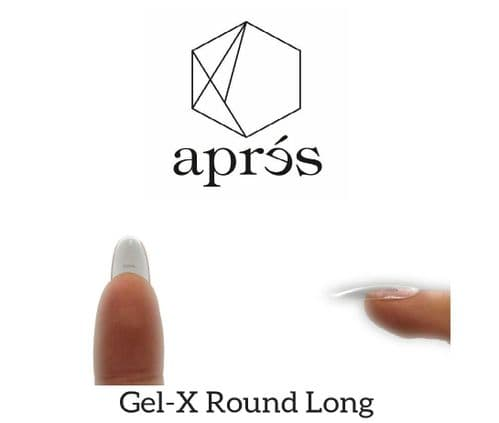 Aprés Gel-X  Round Long Tips 500pcs