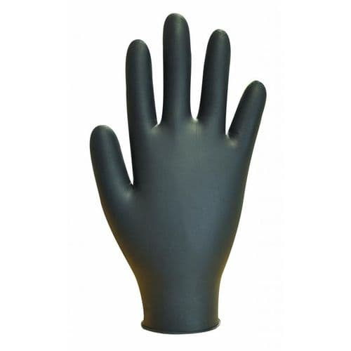 Black Nitrile Powder Free Disposable Glove
