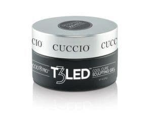 Cuccio T3 LED/UV Cool Cure Controlled Leveling Versatility Gel 28g (1oz) - Clear
