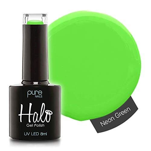 HALO GEL POLISH 8ML - N2833 NEON GREEN