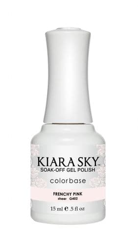 KIARA SKY GEL POLISH 15ML - G402 FRENCHY PINK