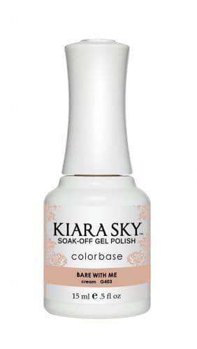 KIARA SKY GEL POLISH 15ML - G403 BARE WITH ME