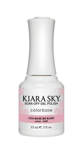 KIARA SKY GEL POLISH 15ML - G405 YOU MAKE ME BLUSH