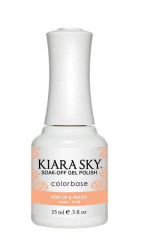 KIARA SKY GEL POLISH 15ML - G418 SON OF A PEACH