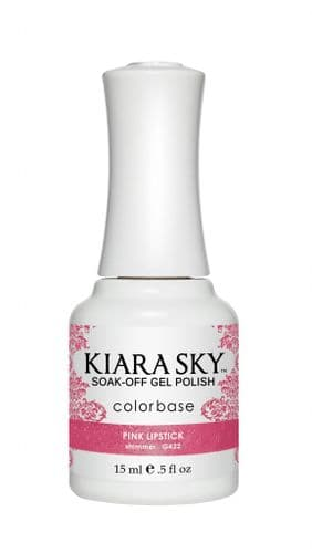 KIARA SKY GEL POLISH 15ML - G422 PINK LIPSTICK