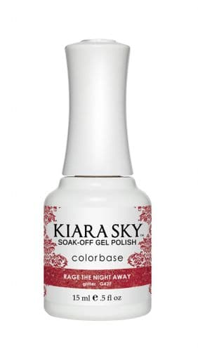KIARA SKY GEL POLISH 15ML - G427 RAGE THE NIGHT AWAY