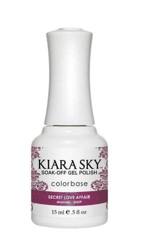 KIARA SKY GEL POLISH 15ML - G429 SECRET LOVE AFFAIR