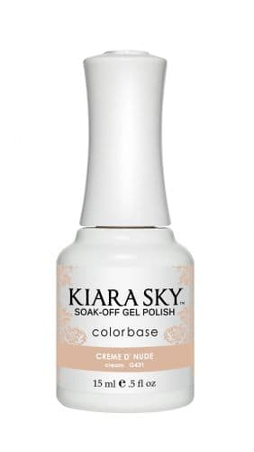 KIARA SKY GEL POLISH 15ML - G431 CREME D'NUDE