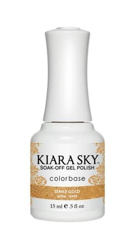 KIARA SKY GEL POLISH 15ML - G433 STRIKE GOLD