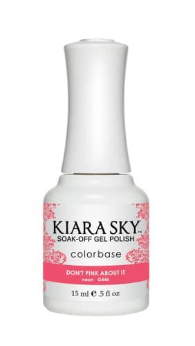 KIARA SKY GEL POLISH 15ML - G446 DON'T PINK ABOUT IT