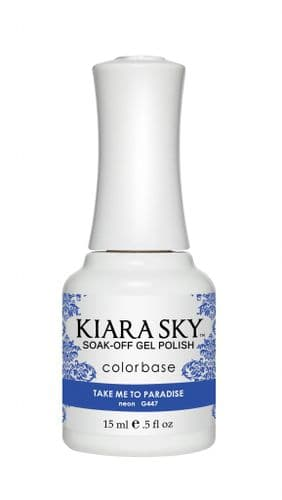 KIARA SKY GEL POLISH 15ML - G447 TAKE ME TO PARADISE