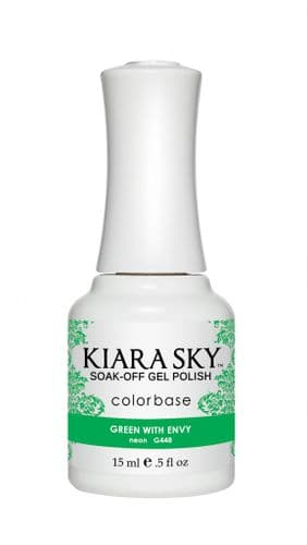 KIARA SKY GEL POLISH 15ML - G448 GREEN WITH ENVY