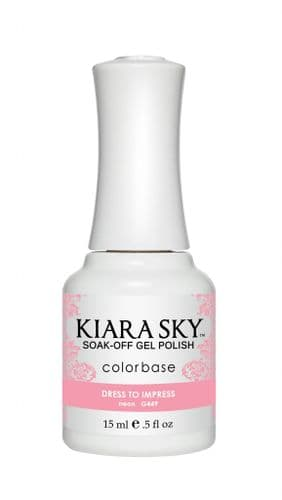 KIARA SKY GEL POLISH 15ML - G449 DRESS TO IMPRESS