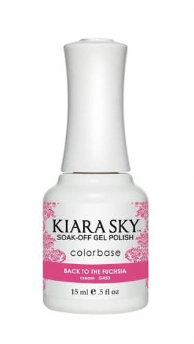 KIARA SKY GEL POLISH 15ML - G453 BACK TO FUSCHIA