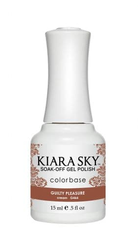 KIARA SKY GEL POLISH 15ML - G466 GUILTY PLEASURE