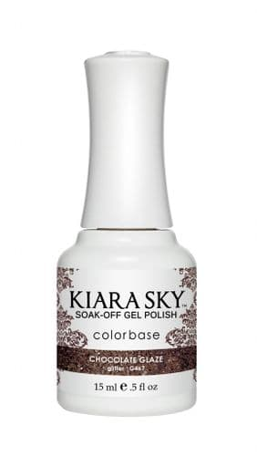 KIARA SKY GEL POLISH 15ML - G467 CHOCOLATE GLAZE