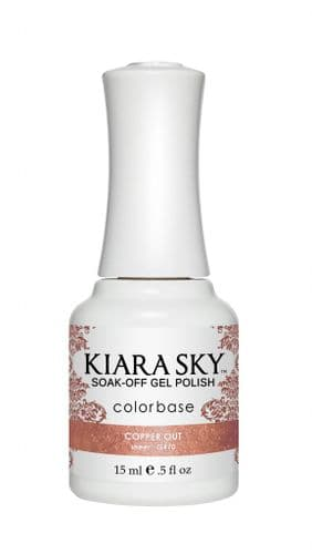 KIARA SKY GEL POLISH 15ML - G470 COPPER OUT