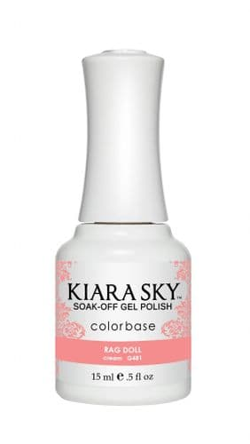 KIARA SKY GEL POLISH 15ML - G481 RAG DOLL