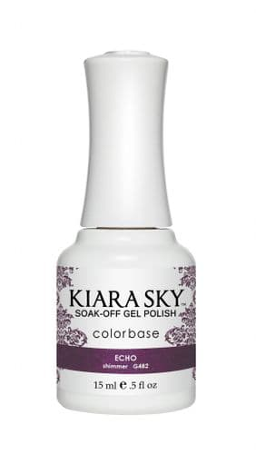 KIARA SKY GEL POLISH 15ML - G482 ECHO
