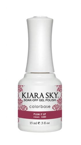 KIARA SKY GEL POLISH 15ML - G485 PLUM IT UP