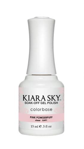 KIARA SKY GEL POLISH 15ML - G491 PINK POWDERPUFF