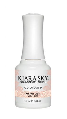 KIARA SKY GEL POLISH 15ML - G495 MY FAIR LADY