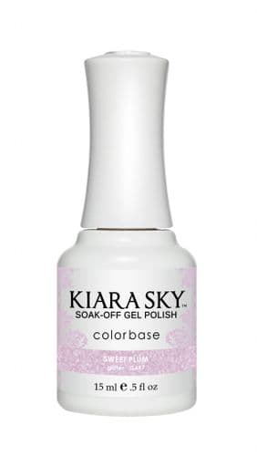 KIARA SKY GEL POLISH 15ML - G497 SWEET PLUM
