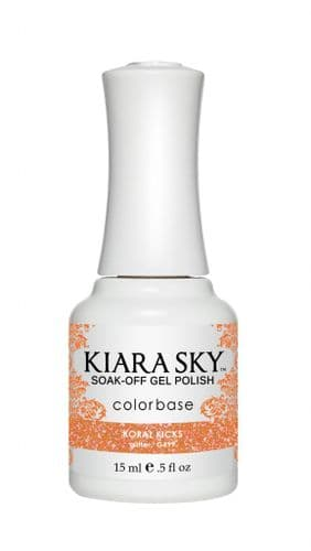 KIARA SKY GEL POLISH 15ML - G499 KORAL KICKS