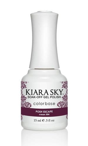 KIARA SKY GEL POLISH 15ML - G504 POSH ESCAPE