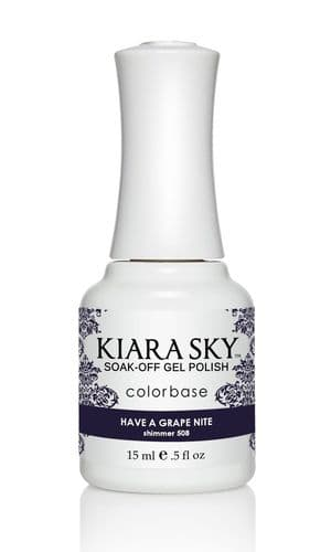 KIARA SKY GEL POLISH 15ML - G508 HAVE A GRAPE NITE