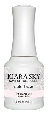 KIARA SKY GEL POLISH 15ML - G514 THE SIMPLE LIFE