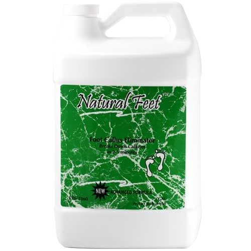 Natural Feet Foot Callus Elimnator Gallon - Mint