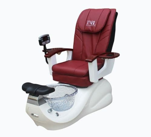 TNBL Spa Pedicure Chair - Red