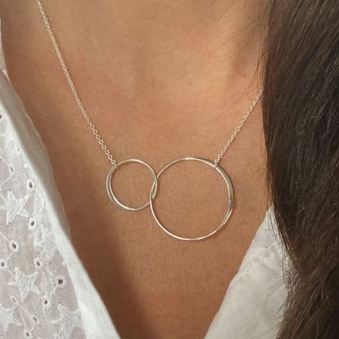 Large Infinity Link Necklace