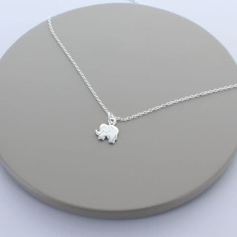 Little Elephant Sterling Silver Necklace