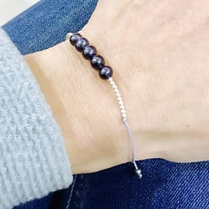 Pearl Beaded Friendship Bracelet