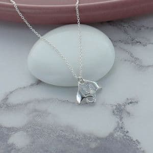Ray Silver Necklace