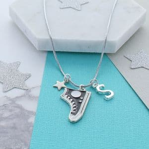 Sneakers Personalised Charms Necklace