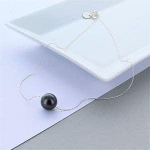 Tightrope Pearl Necklace