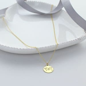 World Charm Necklace