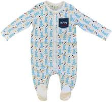 Baby Sleepsuit DISNEY MICKEY MOUSE White/Blue Pack of 20 - £2.00 Each